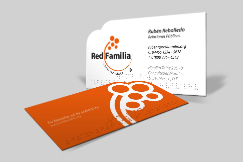 Red Familia - Tarjeta de Presentación